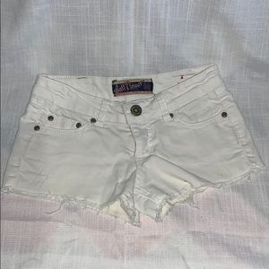 🌸 Wallflower White Denim Shorts : Women's Size 1